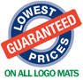 Lowest Prices Guaranteed On All Logo Mats