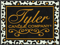 "3' x 4' (35"" x 47"") (B) Digiprint Classic TYLER CANDLE COMPANY Logo Mat"