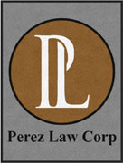 "3' x 4' (35"" x 47"") Digiprint Classic PEREZ LAW Indoor Logo Mat"