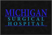 "2' x 3' (24"" x 35"") Digiprint Classic MICHIGAN SURGICAL HOSPITAL Indoor Logo Mat"
