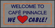 "2' x 4' (24"" x 47"") Digiprint Classic PINNACLE Indoor Logo Mat"