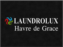 "3' x 4' (35"" x 47"") Digiprint Classic LAUNDROLUX Indoor Logo Mat"