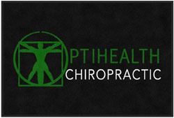 "2 'x 3' (24"" x 35"") Digiprint Classic  OPTIHEALTH Indoor Logo Mat"
