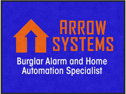 "3' x 4' (35"" x 47"") Digiprint Classic ARROW SYSTEMS Indoor Logo Mat"