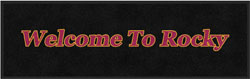 "3' x 10' (35"" x 119"") Digiprint Classic RM LOBOS WELCOME Indoor Logo Mat"