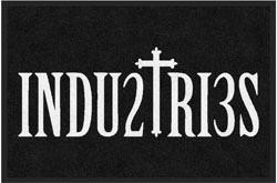 "2 'x 3' (24"" x 35"") Digiprint Classic INDUSTRIES Indoor Logo Mat"