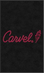 "3' x 5' (35"" x 59"") Vertical Digiprint CARVEL Indoor Logo Mat (Program Special Pricing)"