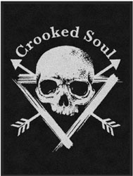 "3' x 4' (35"" x 47"") Digiprint Classic CROOKED SOUL Indoor Logo Mat"