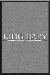 "2 'x 3' (24"" x 35"") Digiprint Classic KING BABY Indoor Logo Mat"