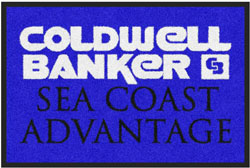 "2 'x 3' (24"" x 35"") Digiprint Classic COLDWELL BANKER Indoor Logo Mat"