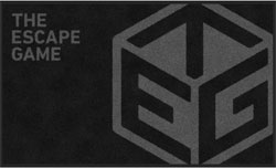 "3' x 5' (35"" x 59"") Digiprint Classic THE ESCAPE GAME 2018 Indoor Logo Mat"
