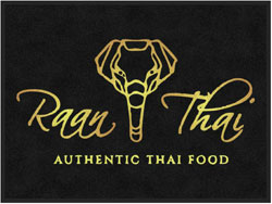 "3' x 4' (35"" x 47"") Digiprint HD RAAN THAI Indoor Logo Mat"