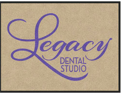 "3' x 4' (35"" x 47"") Digiprint HD LEGACY  Indoor Logo Mat"