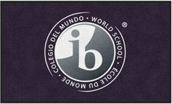 "3' x 5' (35"" x 59"") Digiprint HD PYP WORLD SCHOOL Indoor Logo Mat"