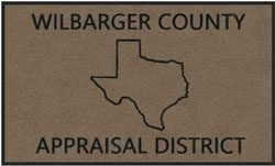 "3' x 5' (35"" x 59"") Digiprint Classic WILBARGER  Indoor Logo Mat"