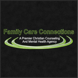 "3' x 5' (35"" x 59"") Digiprint HD FAMILY CARE CONNECTIONS  Indoor Logo Mat"