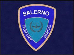 "6' x 8' (68"" x 95"") Digiprint Classic SALERNO Indoor Logo Mat"