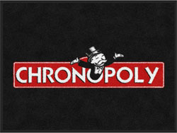 "3' x 4' (35"" x 47"") Digiprint Classic CHRONOPOLY  Indoor Logo Mat"