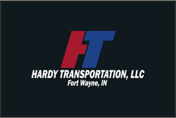 "4' x 6' (45"" x 69"") Cushion Max Impressions HARDY TRANSPORTATION  Anti-Fatigue Logo Mat"