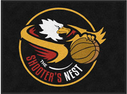"3' x 4' (35"" x 47"") Digiprint HD THE SHOOTERS NEST   Indoor Logo Mat"