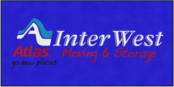 "6' x 12' (68"" x 143"") Digiprint Classic INTERWEST MOVING   Indoor Logo Mat"