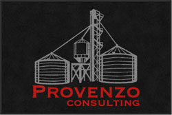 "4' x 6'(45"" x 69"") Digiprint Classic PROVENZO CONSULTING  Indoor Logo Mat"