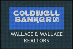 "4' x 6'(45"" x 69"") Waterhog Inlay COLDWELL BANKER Indoor/Outdoor Logo Mat"