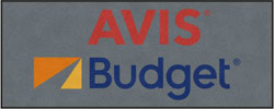 "4' x 10'(45"" x 119"") Digiprint HD AVIS BUDGET  Indoor Logo Mat"