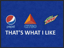 "3' x 4' (35"" x 47"") Digiprint HD CITGO  Indoor Logo Mat"