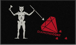 3' x 5' Waterhog Impressions HD DIAMOND COAT  Indoor/Outdoor Logo Mat