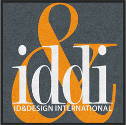 "3' x 3' (35"" x 35"") Digiprint HD IDDI  Indoor Logo Mat"