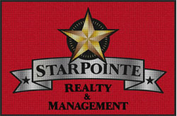 "4' x 6'(45"" x 69"") Waterhog Impressions HD STARPOINTE REALTY  Indoor/Outdoor Logo Mat"