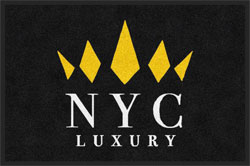 "2' x 3' (24"" x 35"") ColorStar Impressions NYC LUXURY   Indoor Logo Mat"