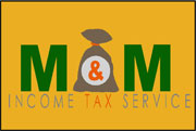 "2' x 3' (24"" x 35"") Digiprint Classic M&M INCOME TAX Indoor Logo Mat"